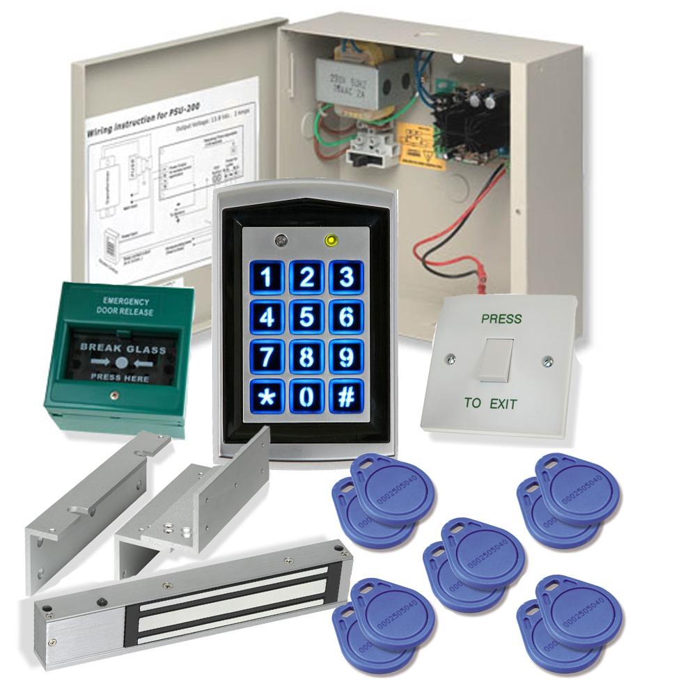 Door Entry Kit Self Install Magnetic Lock Restime