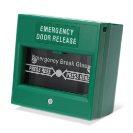 Green Break Glass Call Point (Included)