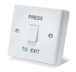 Plastic Exit Button (Included)